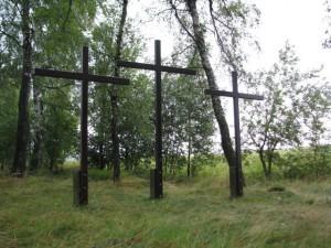 Tři kříže nad Krucemburkem